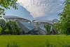 hidden beauty... (jen.ivana) Tags: architecture vuion park green blue city garden glas shape lines curves construction