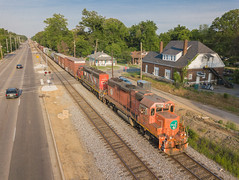 EJ&E 703 (GP38-2) CN Train: RJY30  Memphis, Tennessee (terry.redeker) Tags: memphis tennessee unitedstates