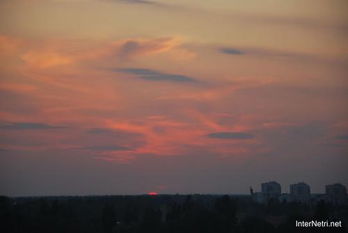 Небо Захід сонця InterNetri Ukraine  19