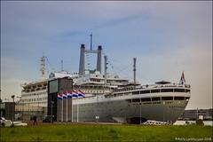 SS Rotterdam (Ciao Anita!) Tags: rotterdam zuidholland nederland netherlands olanda katendrecht schip cruiseschip ship cruiseship nave navedacrociera hotel theperfectphotographer