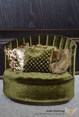 "1:4 Sofa ""Sun"" (JuliaGart) Tags: furniture for doll devadolls numina sybarite kd pillow scale 14 julia gartung"
