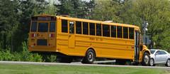 Freeman Bus Corp. #40 (ThoseGuys119) Tags: freemanbuscorp schoolbus watertownny thomasbuilt freightliner fs65 c2 saftliner yellowbumpers