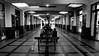 Gare  -  Station (Philippe Haumesser Photographies (+ 6000 000 view)) Tags: couloir hall lane gare station lumières lights bancs benchs noiretblanc blackandwhite monochrome nikond7000 nikon d7000 reflex 2018 personnes peoples 169