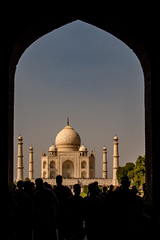 Framed (Anindo Ghosh) Tags: taj mahal agra india tajmahal