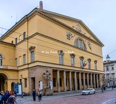 Parma (PR), 2018, Il Teatro Regio. (Fiore S. Barbato) Tags: italy emilia romagna emiliaromagna parma teatro regio ducale