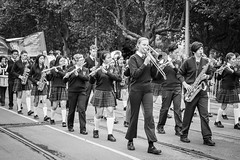 Nothing like a parade (NZL365) Tags: streetparade anzacday anzacparade urban urbanandstreet canon80d streetphotography street streetphoto blackwhite blackandwhite 365project 365photochallenge 365days project365