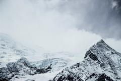 Chamonix (VicTrt) Tags: paysage flanc de montagne neige ciel chamonix mont blanc alpe alpes france alpinisme canon hiver nuage cloud montblanc