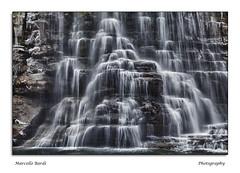 """"""" Splash """" (guitarmargy) Tags: cascata alfero waterfall landscape panorama natura paesaggio rocce marcellobardi romagna italia river"""