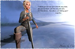 All Hail The Shieldmaiden! (Only Chi - Thank you to my followers) Tags: vikings lagertha maitreya laq sword shieldmaiden anypose