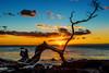 Sunset at Anaeho'omalu Bay - Hawaii (Insite Image) Tags: hawaii hawaiiisland sunset ocean clouds trees sun waikoloavillage anaehoomalubeach