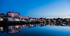 Junto al río (Jesus_l) Tags: europa francia amboise castillo ríoloira jesúsl