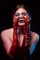 Alesya (TRUE.panda) Tags: za zeiss carlzeiss sony sonnart18135 a850 portrait people studio spb sonnar saintpetersburg gel model models modeling makeup beauty