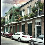 New Orleans  Louisiana - French Quarters ~ Balconies ~ Flower Planters thumbnail