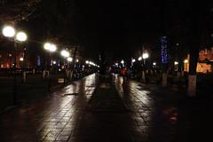 Noche en tver en plaza monumento a Chernobyl (Leo Singer) Tags: noche night winter square plaza chernobyl invierno rusia russia