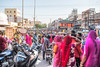 1'300'000'000 (Make our PLANET great again !) Tags: inde india rajasthan jodhpur marché market gens people foule crowd motos bikes femmes women saris nikon