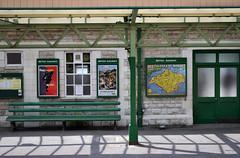 Swanage Steam Railway Station (BudCat14/Ross) Tags: swanage england railway stations light signs posters steamrailways