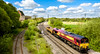 66102 and a wagon (Peter Leigh50) Tags: class 66 shed ews train railway railroad sky building rail fujifilm fuji xt2