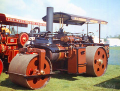 Wallis & Steevens Advance Steam Roller (SR Photos Torksey) Tags: steam road roller transport traction engine rally show showground vintage vehicle classic