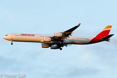 Iberia | EC-JBA | Airbus A340-642 | JFK | KJFK (Trevor Carl) Tags: a340642 aviation airbus avgeeks photo 606 aircraft airplane alltypesoftransport ecjba iberia jfk kjfk newyork newyorkcity newyorkjohnfkennedy plane transport unitedstatesofamerica airlinersnet