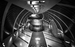 Subway Station XV (RAM-style) Tags: subway subwaystation underground untergrund ubahn ubahnstation monochrom blackwhite bw schwarzweis sw ramstyle ramstylepictures darkstyle darkstylepictures nikond750