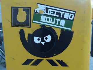 Angry Post Owl