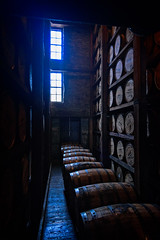 Rick House (Brett of Binnshire) Tags: usa versailles distillery kentucky industry locationrecorded whiskey whisky bourbon woodfordreserve woodford barrels rickhouse