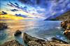Gioia infinita (Gio_ guarda_le_stelle) Tags: mare sole tramonto michael bea speranza seascape hope sunset clouds bello magia atmosefra sea water sunlight sunbeams music italia soddisfazioni cucciolo