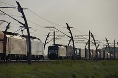Ontmoeting tussen DB Cargo 189 822-0 + 189 036-7 en SBB Cargo 189 290-0 op de Betuweroute bij Angeren 15-05-2018 (marcelwijers) Tags: ontmoeting tussen db cargo 189 8220 0367 en sbb 2900 op de betuweroute bij angeren 15052018 nederland niederlande netherlands pays bas 290 036 822 class serie br baureihe