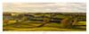 Muggington, Derbyshire (AnthonyCNeill) Tags: landscape panorama pano sunset evening light shadows hills trees sky sunny derbyshire english countryside nikon d7200 35mm dx