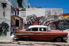 Colorful Cuba (karmajigme) Tags: cuba car color art street havana streetphotography travel painting streetart arturbain city nikon