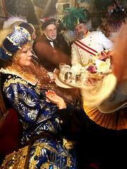 Mask Carnival Venice 2018 (MelindaChan ^..^) Tags: venice italy 意大利 威尼斯 tea set maskcarnivalvenice2018 afternoontea life people chanmelmel melinda melindachan mel cosplay dressup