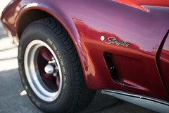 DSC07798 (Thomas Jäckle) Tags: red stingray corvette samyang135mmf2 a7ii horsepower