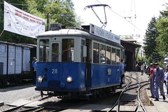 Tram CE 2/3 28 1913 Tramways Lausannois in Blonay Chamby Switzerland 2018 (roli_b) Tags: tram tramway tramways rail railway strassenbahn bahn zug train tren ce 23 28 1913 2018 ce23 ce2328 lausannois tramwayslausannois lausanne montreux blonay chamby muesum fer chaulin switzerland schweiz suisse suiza sivzzera