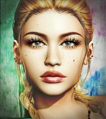 Lost In . . . (Broderick Logan) Tags: secondlife second 2nd life 2ndlife avi avatar virtual vr inworld 3d bento mesh enaroane ena roane woman beautiful portrait eyes beauty