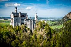 Schloss Neuschwanstein (gitterosa) Tags: ludwig germany castle 2018 allgäu reisen deutschland schlossneuschwanstein bayern marienbrücke füssen