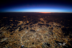 A clear view of Paris last week, at 37,000 feet (gc232) Tags: paris aerial view night canon 5d mark iv samyang 20mm f18 fly livefromtheflightdeck golfcharlie232 from above