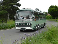 King Alfred on Tour. (Renown) Tags: bus coach singledecker bedford val val14 kingalfred fokab ccg704c preserved preservation restored heritage