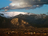 Atardecer en Cerceda (Edu.San.) Tags: guadarrama nubes nieve roca atardecer