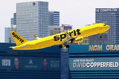 Spirit Airlines   Airbus A321-200   N662NK   Las Vegas McCarran (Dennis HKG) Tags: aircraft airplane airport plane planespotting canon 7d 100400 lasvegas mccarran klas las spirit spiritairlines nks nk airbus a321 airbusa321 sharklets n662nk