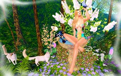 A Forest Foray (Jhanelle Bonde-Galtier) Tags: redmoondesigns munereia fameshed sunsetmistinbloomevent lunarseasonaldesigns glamaffair truthhair studioskye jian