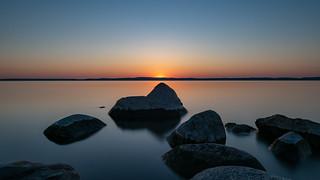 Rock solid dusk
