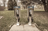 RIng Ring (Jay:Dee) Tags: 2018topwrs toronto island cherry blossoms topw photo walks walk pay phone two dual symmetry bell