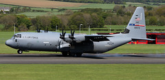08-3173 (PrestwickAirportPhotography) Tags: egpk prestwick airport usaf united states air force c130j 083173 317aw dyess mobility command