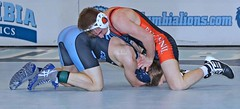 Columbia v Bucknell (Leo Tard1) Tags: canon eos 5d iv usa ny nyc wrestling collegewrestling wrestle wrestler male singlet indoor sport sportfight athletic athlete leotard dual 2018 columbiauniversity lions bucknelluniversity bisons 125lb geobarzona spencergood