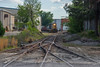 Three Ways to Nowhere (ajketh) Tags: csx csxt nit freight train railroad emd rebuild gp383 coil precoat metals cars industrial 3point 3way three equilateral lap turnout switch local f768 y101 columbia sc south carolina park out service 2043