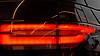 car taillight (heinzkren) Tags: color flickrfriday light reflection rangerover design abstract lines led flare canon powershot stoplight red orange yellow black aufflackern car motorsport detail rücklicht bremslicht auto spiegelung