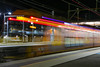 Waratah A58 Departing Penrith (Photography Perspectiv) Tags: railroad railway train night lights sydneytrains waratah aset penrith