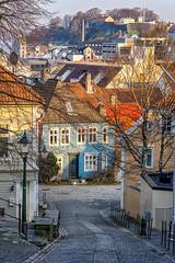 Streets of Bergen, Norway (Paulius Bruzdeilynas) Tags: bergen norway norge norwegian city street color spring morning sunrise travel trip sony sonyalpha sonya7ii