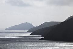 Into infinity (Explo) Tags: layers landscape sea islands layered sky shadows glint ireland land reflection