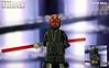 Custom LEGO Star Wars: The Phantom Menace | Darth Maul (LegoMatic9) Tags: custom lego star wars episode 1 the phantom menace darth maul